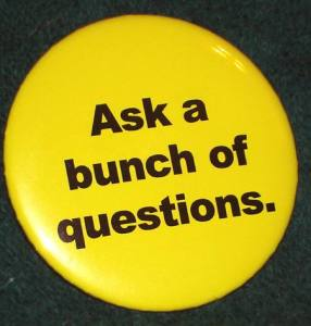 Dave Lieber's popular Ask a Bunch of Questions button