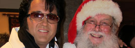 Summer Santa, Elvis and the Coolest House in Texas