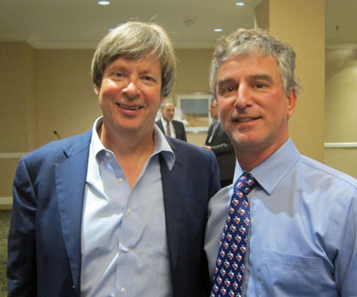 Dave Barry and Dave Lieber won column writing awards