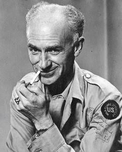 Ernie Pyle portrait