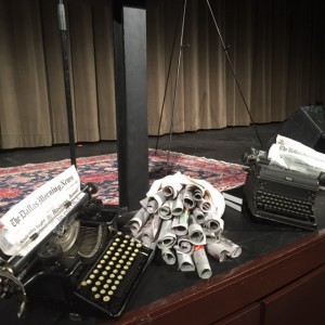 Stage set for columnist and speaker Dave Lieber