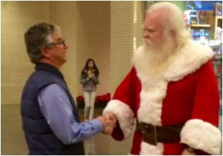 On Christmas Day, My Best Visit With Santa