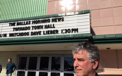 "Dave Lieber Hosts ""A Tornado Town Hall"""