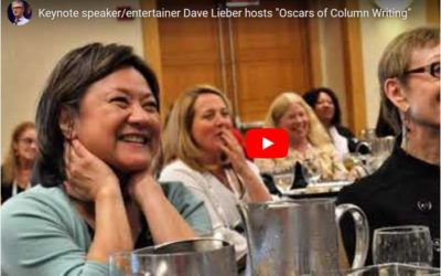 VIDEO: Dave Lieber hosts 'The Oscars of Column Writing