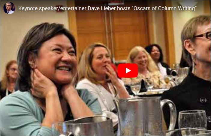 VIDEO: Dave Lieber hosts 'The Oscars of Column Writing'