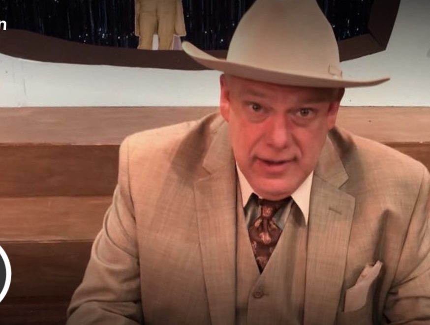 Legendary Texas teacher Kelvin Dilks talks about playing Amon Carter in a new play