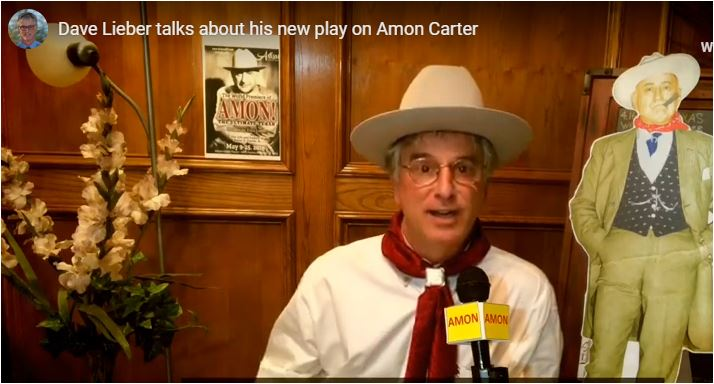 Video: Dave Lieber talks about his new play on Amon Carter