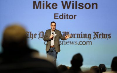 My editor resigns. Thanks Mike for being Mike