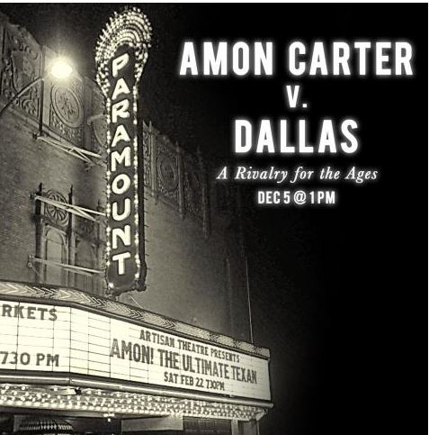"What people are asking about Amon ""Mr. Fort Worth"" Carter and the hit new play and book about him"