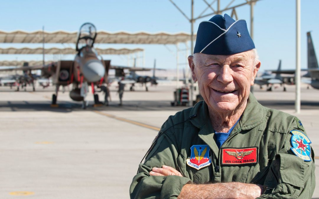 Chuck Yeager died. I wrote this story about him 20 years ago